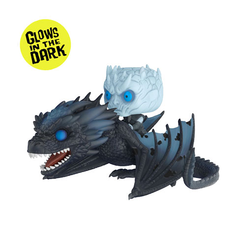 Pop! Night King sur le dragon Viserion - Game of Thrones N°58