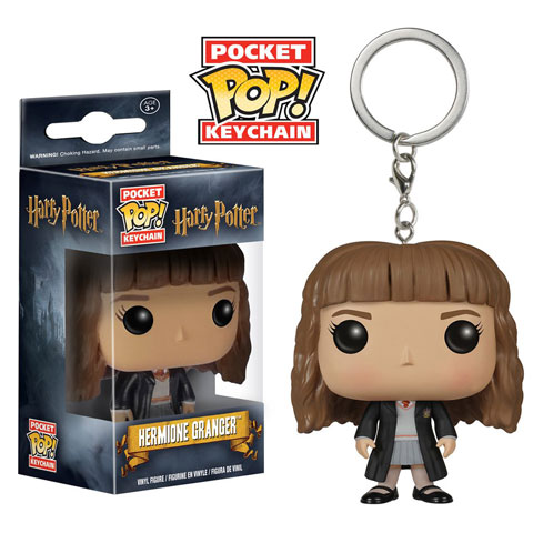 Porte-clés Pocket Pop! Hermione Granger - Harry Potter