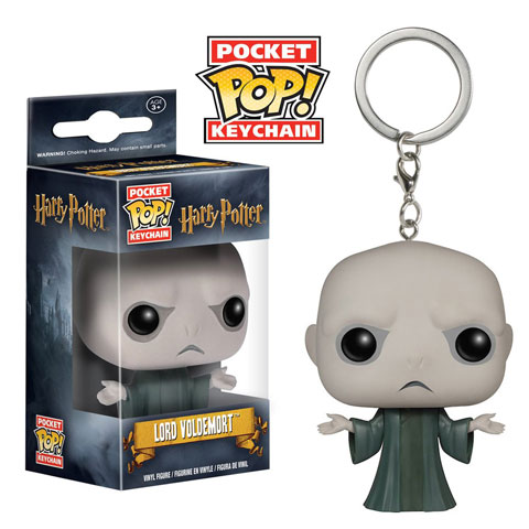 Porte-clés Pocket Pop! Lord Voldemort - Harry Potter