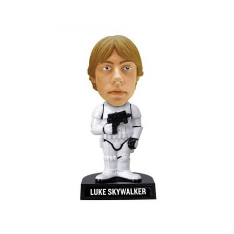 Star Wars - Bobble Head - Luke Skywalker as Stormtrooper