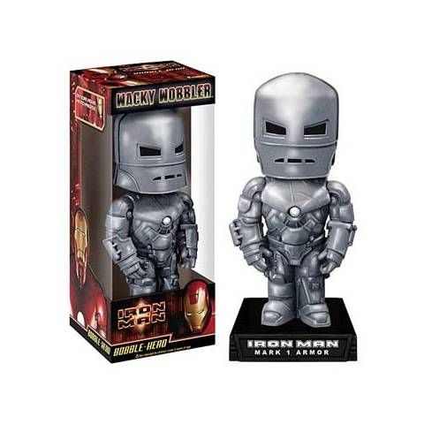 Marvel - Bobble Head - Iron Man Silver Mark 1