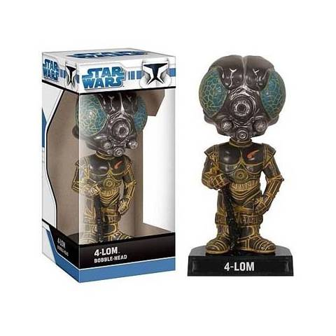 Star Wars - Bobble Head - 4 Lom
