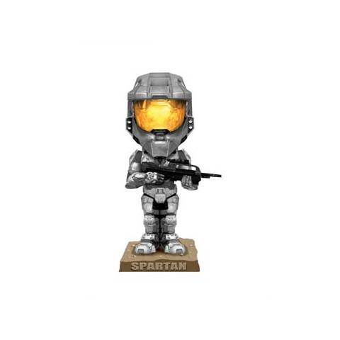 Halo 3 - Bobble Head - Silver Spartan