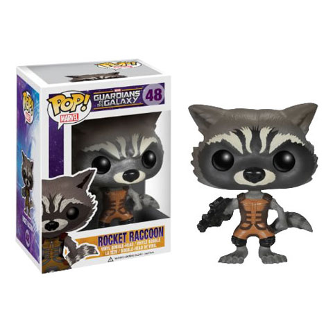 Pop! Marvel Gardiens de la Galaxie Rocket Racoon