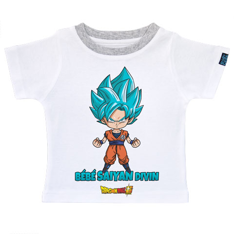 Bébé super Saiyan Divin Goku - Dragon Ball Super