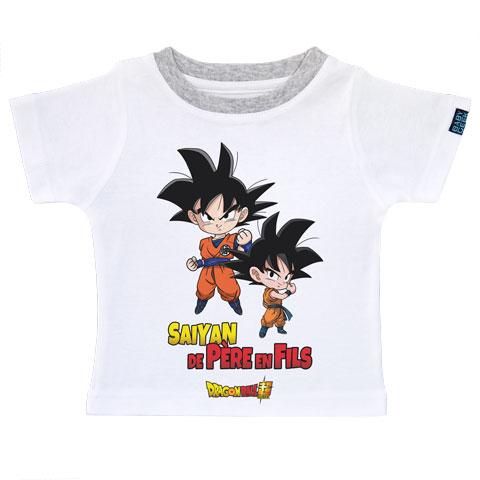 Saiyan de père en fils - Goku et Goten - Dragon Ball Super
