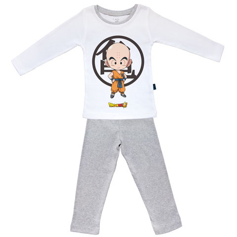 Krilin - Dragon Ball Super - Pyjama Bébé manches longues