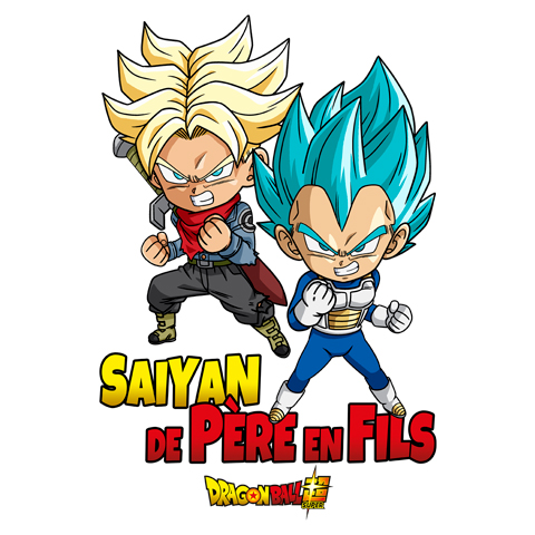 Saiyan de père en fils - Trunks et Vegeta - Dragon Ball Super