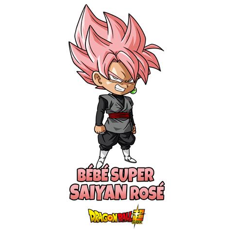 Bébé super Saiyan Rosé - Black Goku - Dragon Ball Super