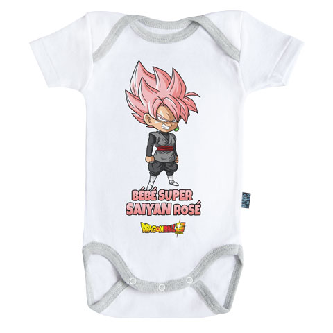Bébé super Saiyan Rosé - Black Goku - Dragon Ball Super