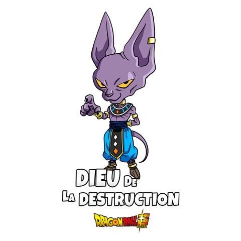 Dieu de la destruction - Beerus - Dragon Ball Super