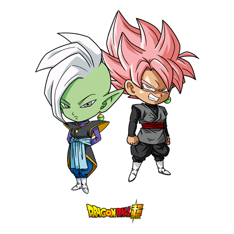 Zamasu et Black Goku - Dragon Ball Super