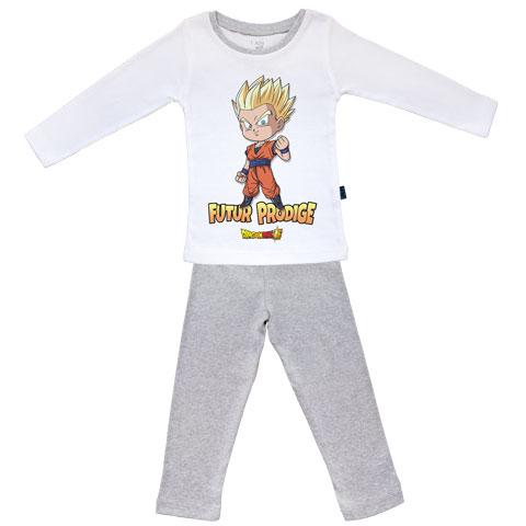 Futur Prodige - Gohan - Dragon Ball Super - Pyjama Bébé manches longues