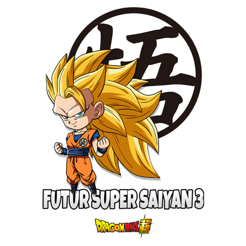Futur Super Saiyan 3 - Goku - Dragon Ball Super