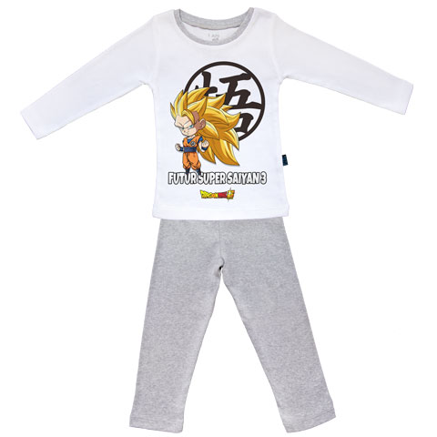 Futur Super Saiyan 3 - Goku - Dragon Ball Super - Pyjama Bébé manches longues