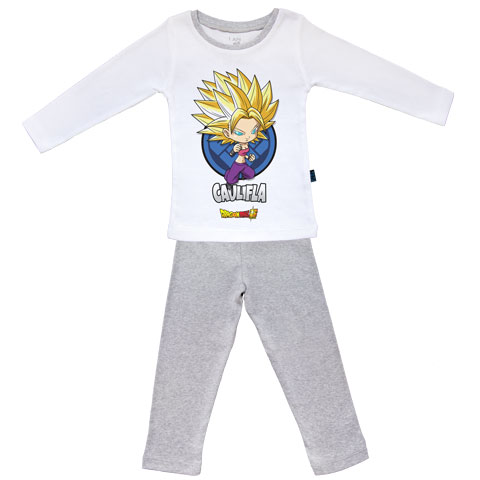 Caulifla - Dragon Ball Super - Pyjama Bébé manches longues