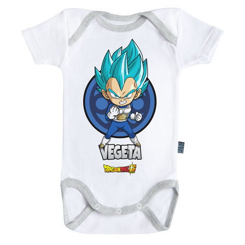 Vegeta - Dragon Ball Super - Body Bébé manches courtes