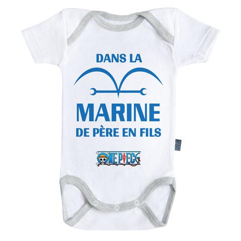 Dans la marine de père en fils - One Piece