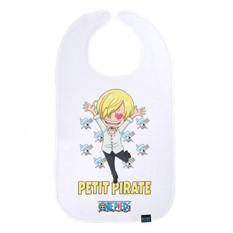 Petit Pirate Sanji - One Piece - Maxi bavoir Bébé
