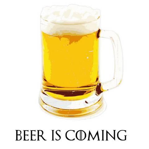 Beer Is Coming - Blanc