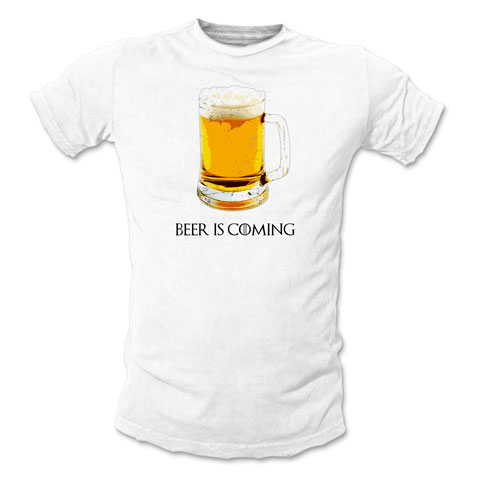 Beer Is Coming - Blanc