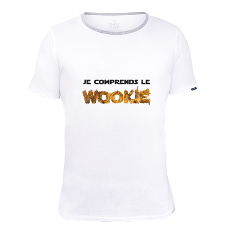 je comprends le wookie