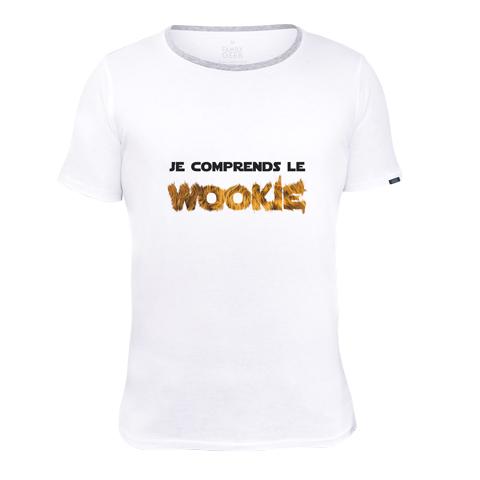 Je comprends le wookie - T-shirt - Coton - Blanc