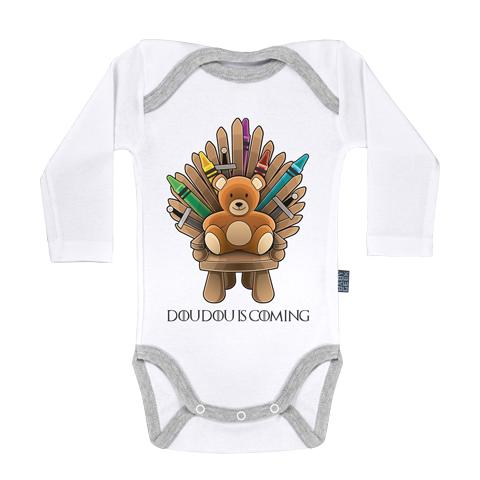 Doudou is coming - Body Bébé manches longues