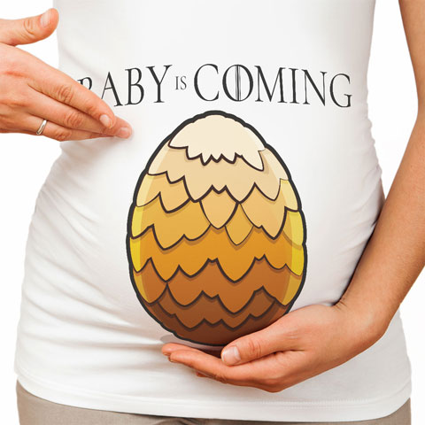 Baby is Coming - Jaune