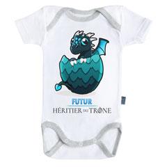 Futur Héritier Bleu