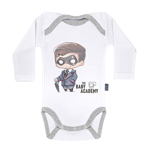 Baby Academy - Body Bébé manches longues