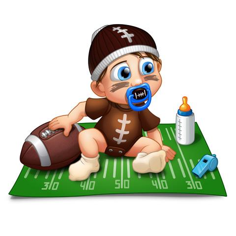 Un jour je serai un joueur de football américain