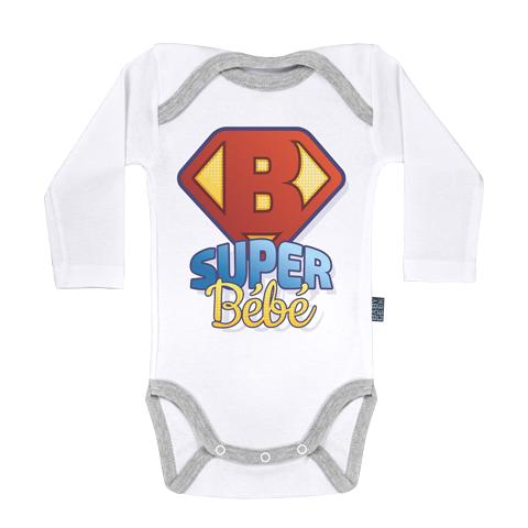 Super Bébé - Body Bébé manches longues