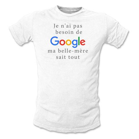 Je n'ai pas besoin de Google, ma belle-mère sait tout