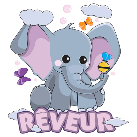 Éléphant rêveur
