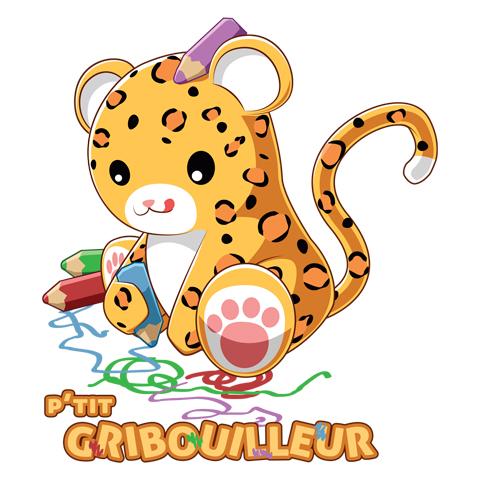 Leopard gribouilleur