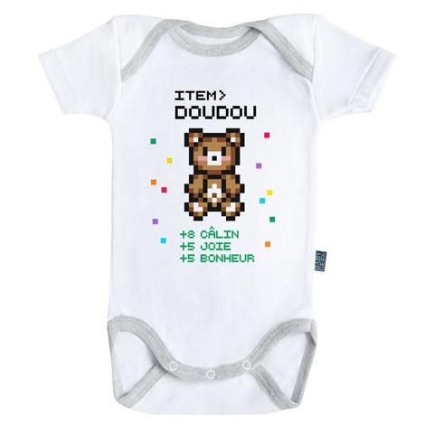 Item doudou pour bébé gamer