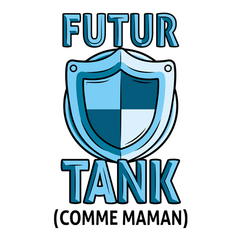 Futur tank comme maman (version garçon)