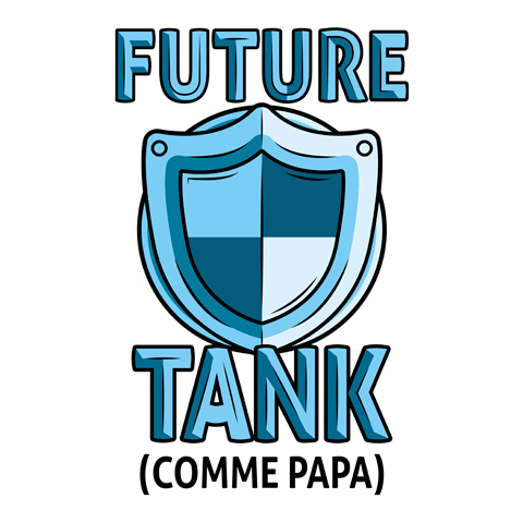 Future tank comme papa (version fille)