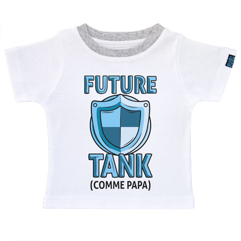 Future tank comme papa (version fille)