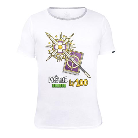 Prêtre LV100 - T-shirt - Coton - Blanc