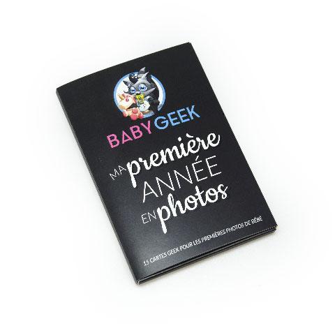 15 cartes ma première année geek en photo - Baby Geek