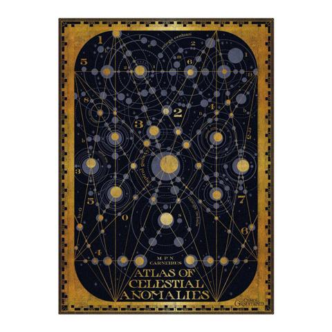 Poster Atlas of Celestial Anomalies