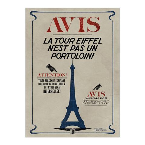 Poster La Tour Eiffel
