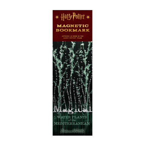 Marque-page Magical Water Plants of the Mediterranean Magnetic