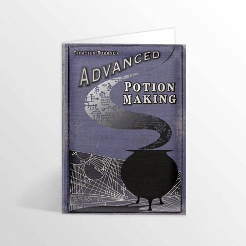 Carte 2 volets livre Advanced Potion-Making - Edition II