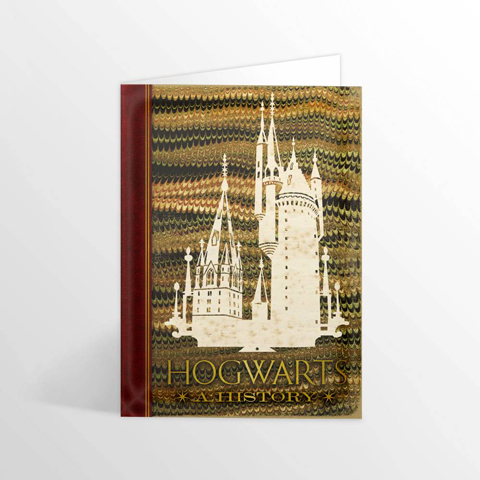 Carte 2 volets Hogwarts: A History