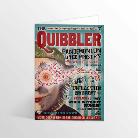 Carte 2 volets The Quibbler - Spectrespecs