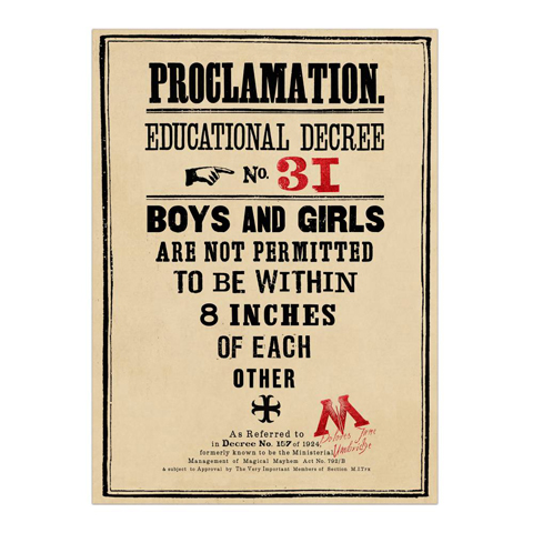 Poster - Proclamation 31