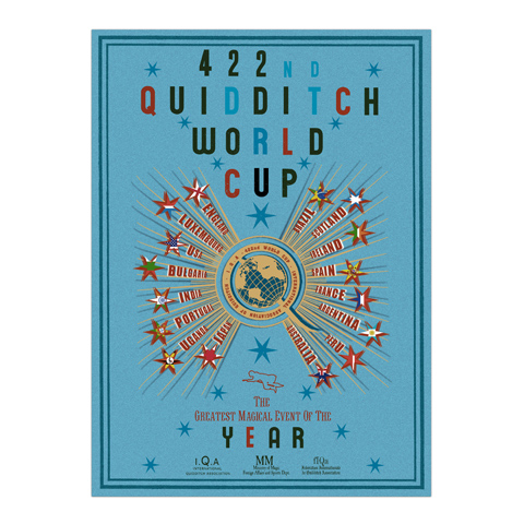 Poster - Quidditch  World Cup